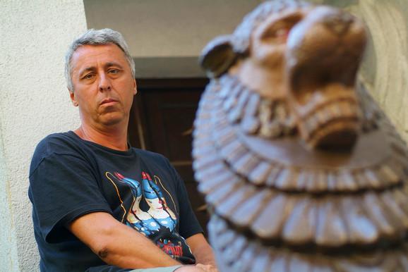 Pevač Nebojša Čonkić Čonta