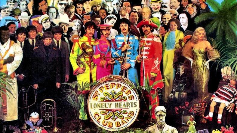 "Okładka płyty ""Sgt. Pepper's Lonely Hearts Club Band"" The Beatles"