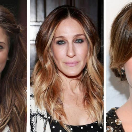 Fryzury Pasujące Do Pociągłej Twarzy Gwiazdy Pokazują Trendy