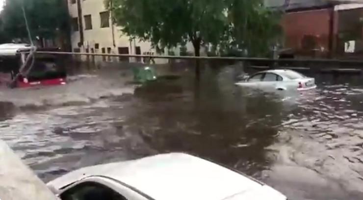 Poenkareva, poplava, 19. jun