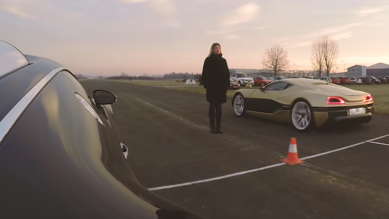 Drag race: Bugatti Veyron vs Rimac Concept One