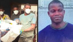 Benjamin Kofi Yeboah and the exhumed body