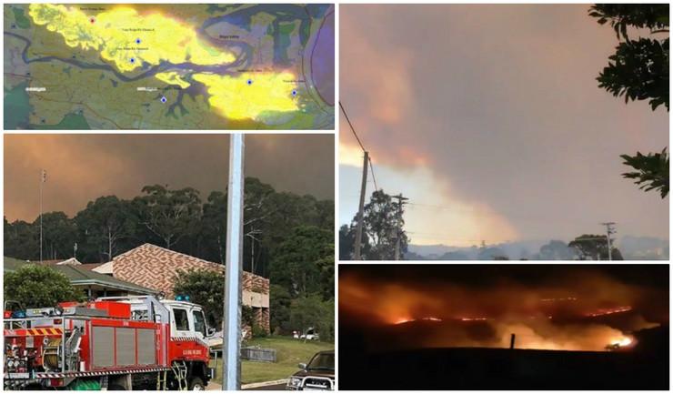 Australija požar kolaž