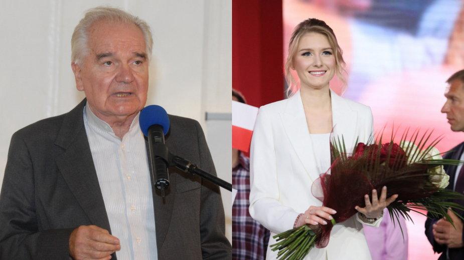 Stanisław Brejdygant i Kinga Duda (PAP, fot. Leszek Szymański)