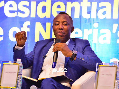 In February 2019, Omoyele Sowore ran as the presidential candidate of the African Action Congress. (Pulse)