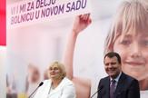 Predsednik Vlade Vojvodine Igor Mirović i v.d. direktora Dečije bolnice Jadranka Jovanović Privrodski