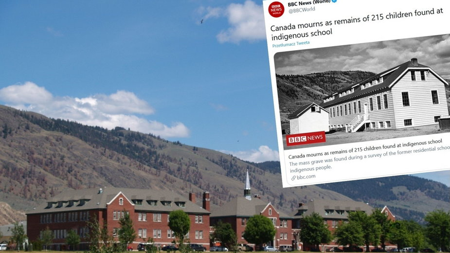 Kanada: Makabra na terenie dawnej szkoły. Odkryto mogiłę ze szczątkami 215 dzieci
