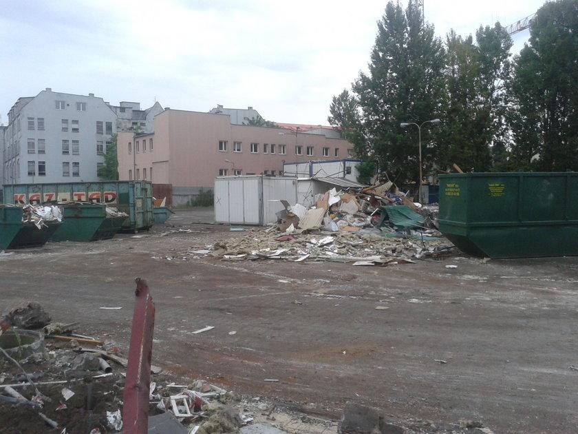 Plac po byłym targowisku Zielińskiego we Wrocławiu