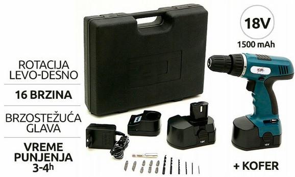 Extra German baterijska šrafilica-bušilica