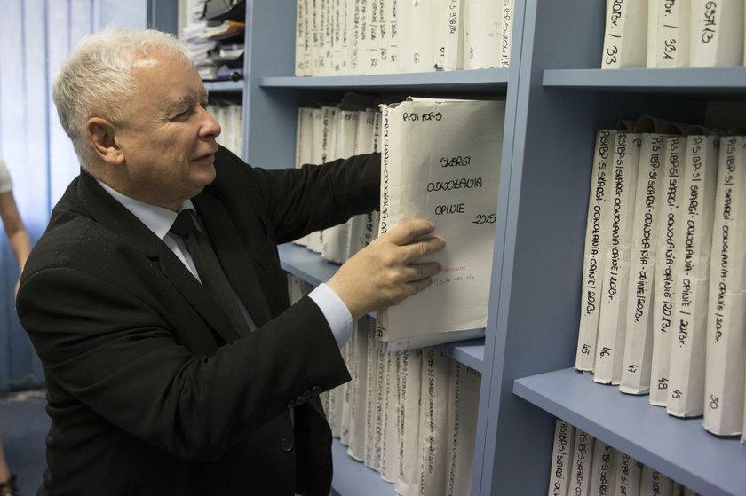 Teczki Jarosława Kaczyńskiego