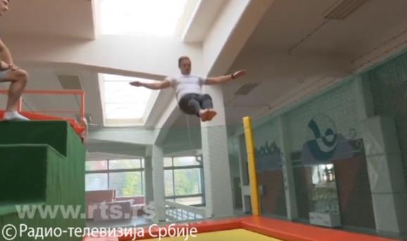 Ivan je rešio da ulaže u tramboline u Leskovcu