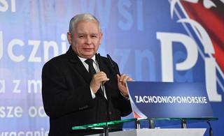 Telekonferencyjne przesłuchanie Kaczyńskiego w sprawie przeciwko Wałęsie