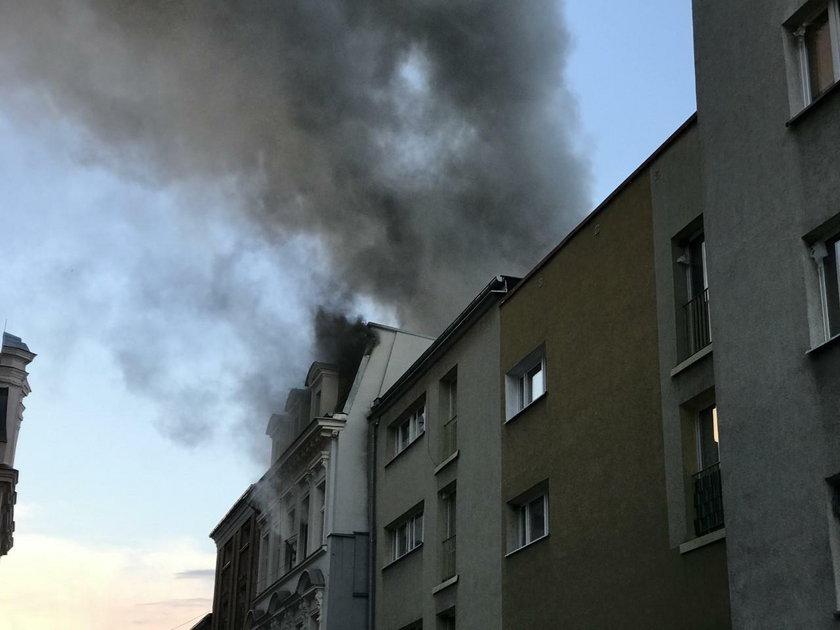 Wybuch w kamienicy w Kędzierzynie-Koźlu.