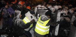 Walki w Kijowie. Milicja zepchnęła demonstrantów
