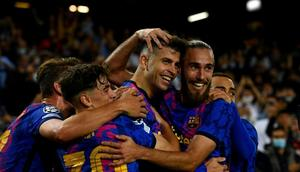 Barcelona will be hoping to regain ground in La Liga by beating Real Madrid in the Clasico on Sunday. Creator: Josep LAGO