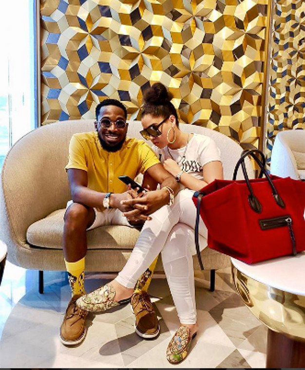 D'Banj welcomed a son with his wife, Lineo Didi Kilgrow in the United States of America barely a month after revealing that he's expecting a child (Onobelo)