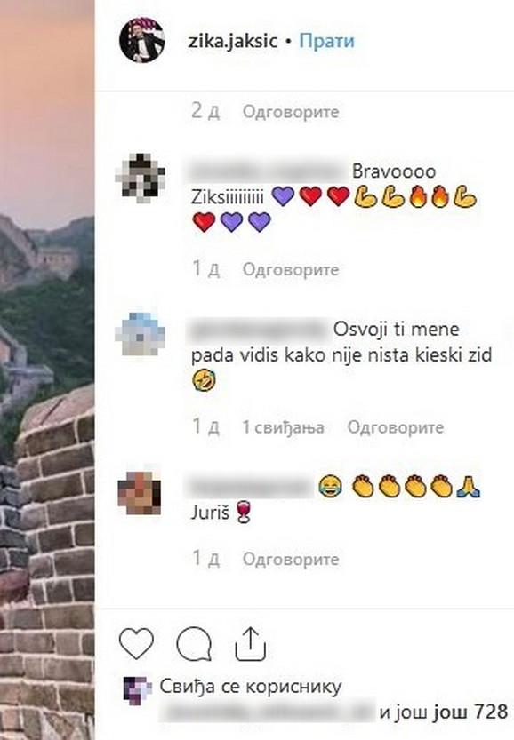 Komentar na objavu Žike Jakšića
