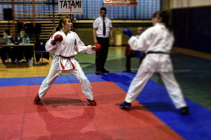Sara Roljic karate