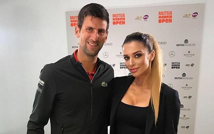 Novak Đoković i Fani Stipković