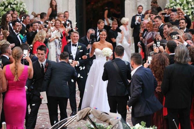 Ana i Švajni na venčanju u Veneciji