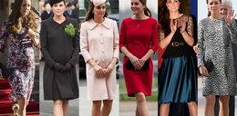 Wiemy ile kosztowała ciążowa garderoba księżnej Kate!