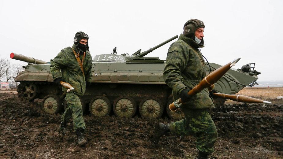Działania militarne w obwodzie donieckim. Luty, 2020 r