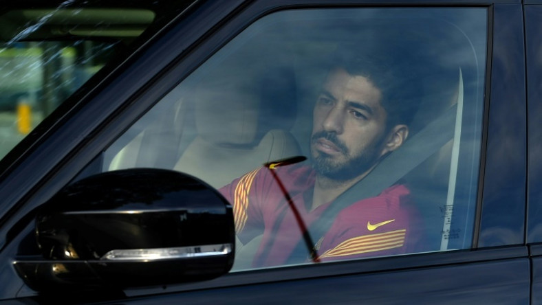 Luis Suarez has been told he is not part of Ronald Koeman's plans at Barcelona