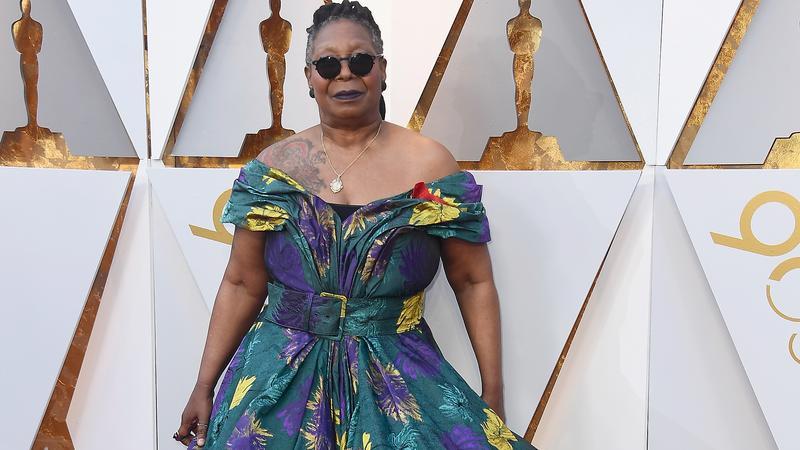 Whoopi Goldberg na czerwonym dywanie   Oscary 2018