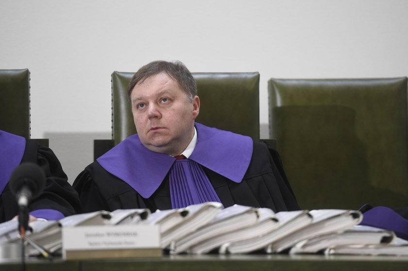 Sędzie Jarosław Wyrembak