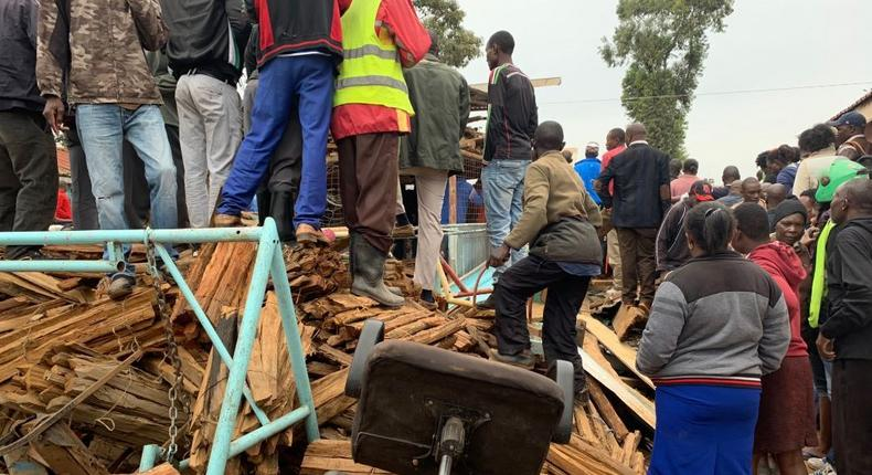 4 pupils rushed to KNH, dozens trapped as classroom collapses in Nairobi