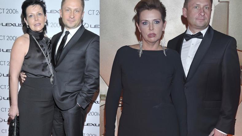 Porównując najnowsze zdjęcia pary z tymi zrobionymi 3 lata temu, trudno się nie zastanowić, czy zmiana na twarzy pani Durczokowej to tylko kwestia makijażu...?