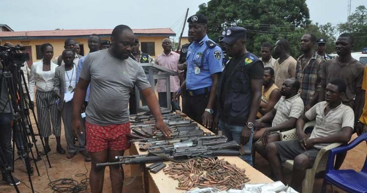Police arrest suspected gunrunners in Enugu State - Pulse Nigeria