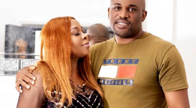 Nollywood veteran Tricia Eseigbe welcomes baby with husband 10 years after marriage