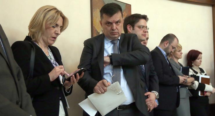 Zeljka Cvijanovic i Zoran Tegeltija