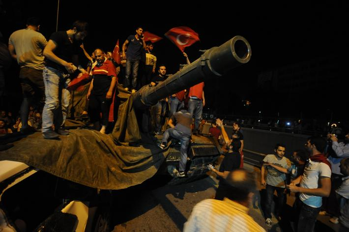 Military Attempts Coup In Turkey