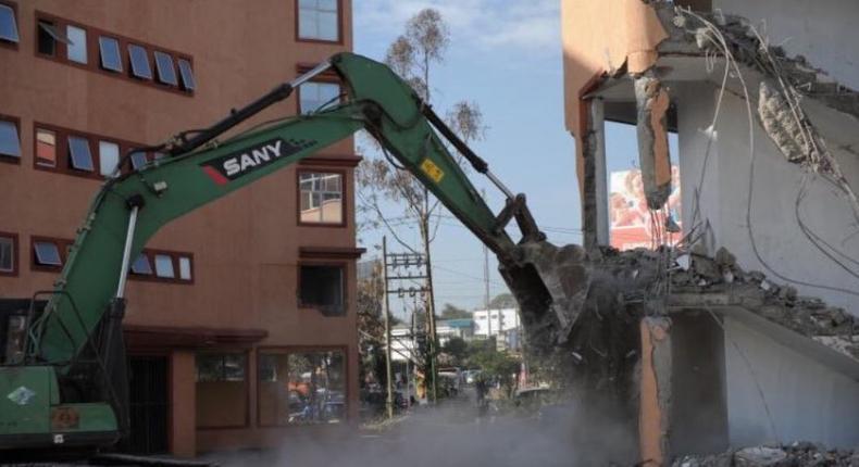 Kenyans react to Taj Mall (Airgate Centre) demolition