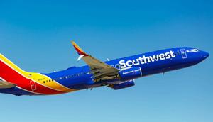 A Southwest Airlines Boeing 737-800.