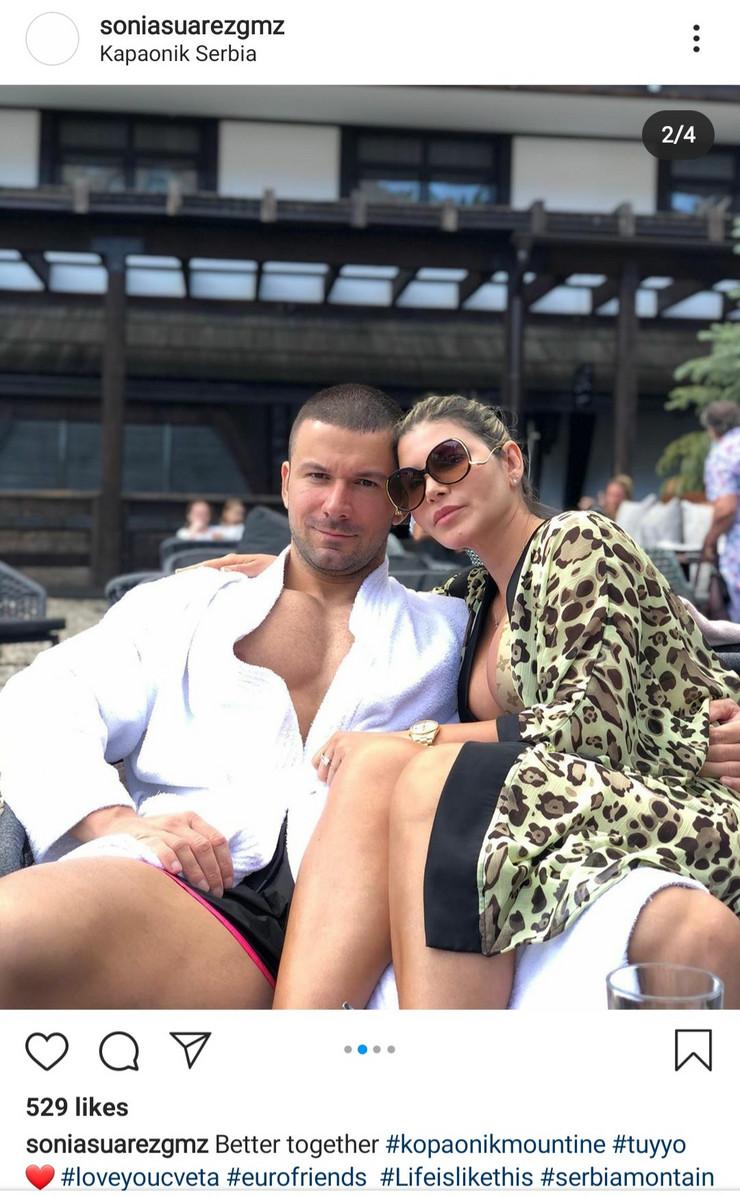 Strahinja Stojanović i Sonja Suarez Gomez