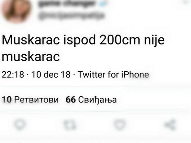 Kada Srbima na Tviteru kažete OVAKO NEŠTO, usledi NEREALNA RASPRAVA: Nakon OVOG KOMENTARA jednog muškarca, SVI SU ZAĆUTALI