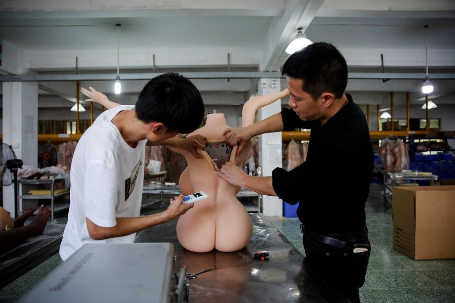 The Wider Image: Smart bots: China's sex doll makers jump on AI drive