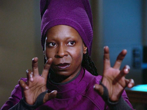 Whoopi Goldberg în Star Trek: The Next Generation