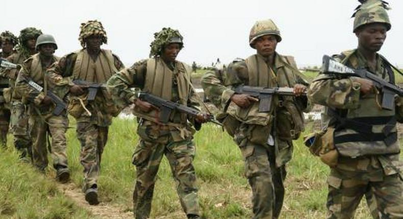 Nigerian soldiers have been deployed to all corners of the country to fight a wide range of criminal activities for two months