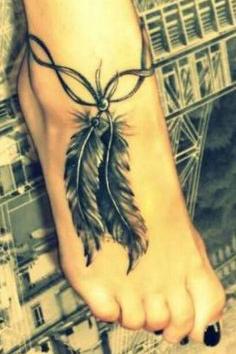 50 Tatuaży Z Piórami Które Uwodzą Delikatnością
