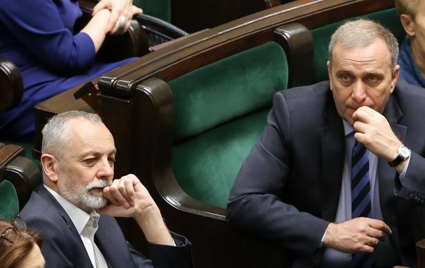 Rafał Grupiński i Grzegorz Schetyna PAP/Paweł Supernak