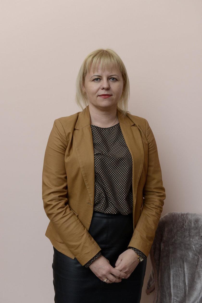 Aneta Niewiarowska (40 l.), sekretarz gminy Wińsko