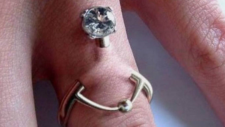 People are piercing their finger instead of wearing an engagement ring