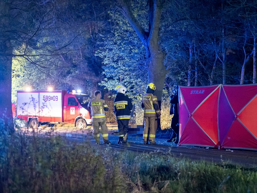 Trzy ofiary wypadku w Aleksandrowie Łódzkim