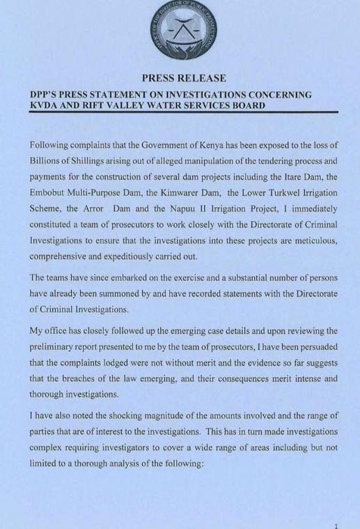 Statement from DPP Noordin Haji