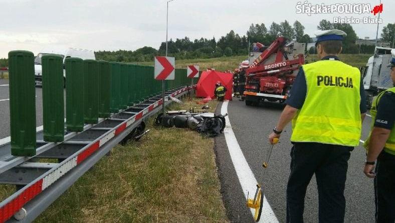 Śląskie: W lipcu zginęło 10 motocyklistów - najtragiczniejszy miesiąc od lat