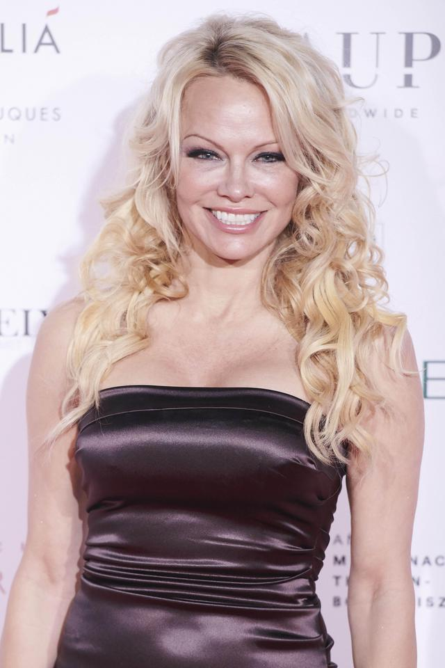 Pamela Anderson na gali The Global Gift w Madrycie